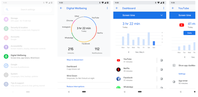 Google's 'Digital Wellbeing' features hit more devices, including Samsung Galaxy S10