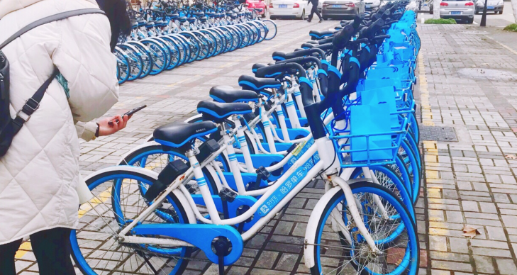 Alibaba hits the gas on mobility as its bike sharing service adds carpooling Screen Shot 2019 02 21 at 7