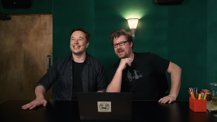 Elon Musk finally hosted meme review with the co-creator of Rick and Morty Screen Shot 2019 02 22 at 1