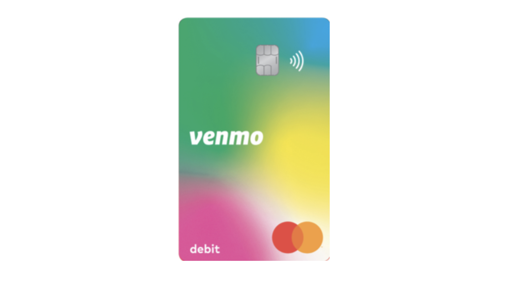Venmo launches a 'limited edition' rainbow debit card for its