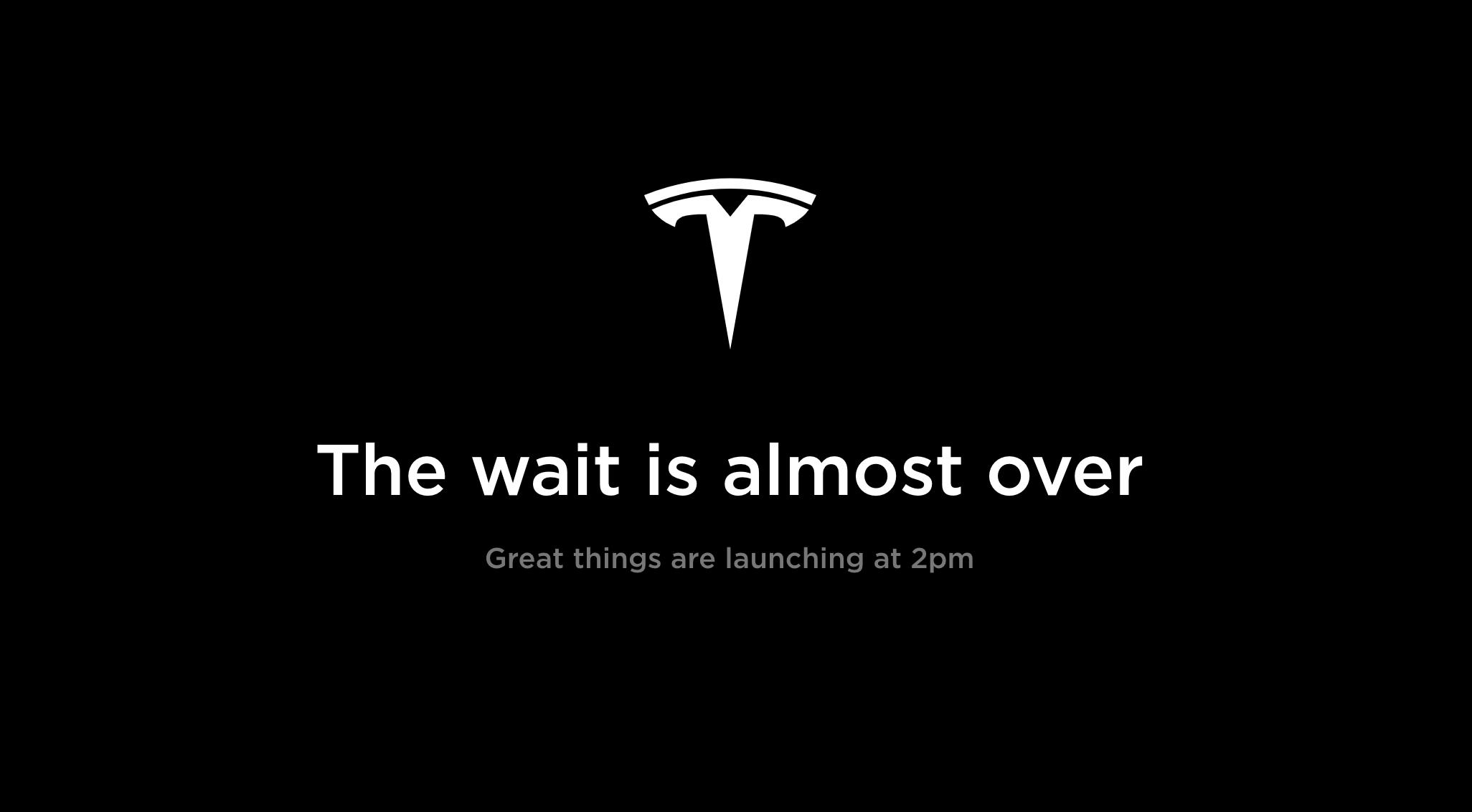 Tesla halts online sales ahead of Elon Musk announcement