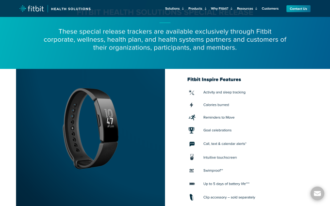 Fitbit's most new neatly being tracker is appropriate for employees and neatly being insurance participants