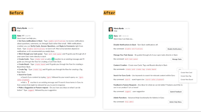 Block Kit helps deliver more visually appealing content in Slack