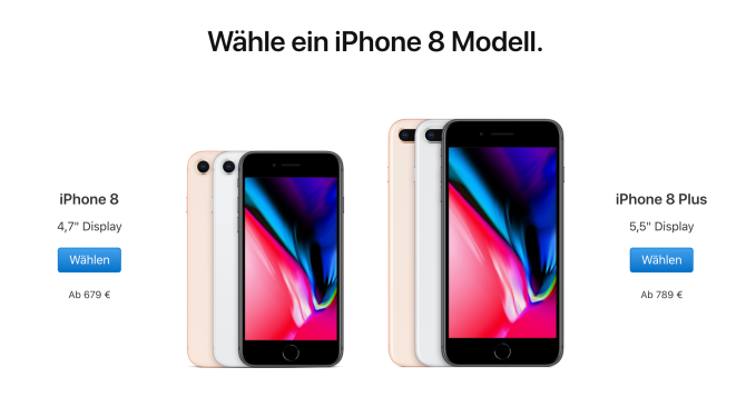 Apple is selling the iPhone 7 and iPhone 8 in Germany again