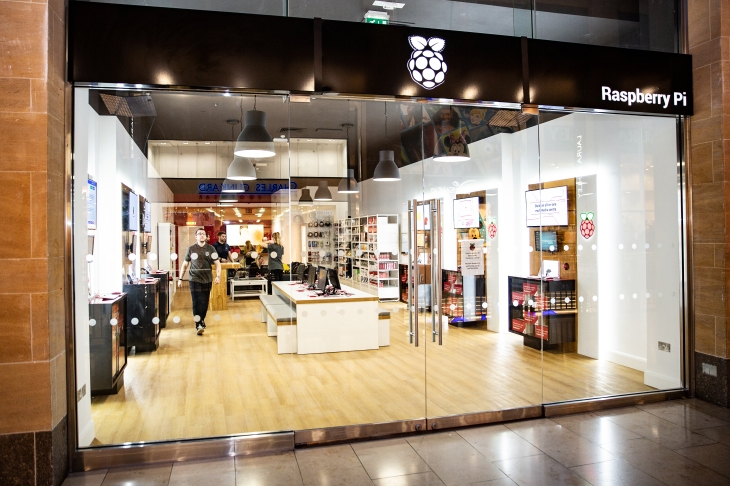 The Raspberry Pi store is much cooler than an Apple Store | TechCrunch
