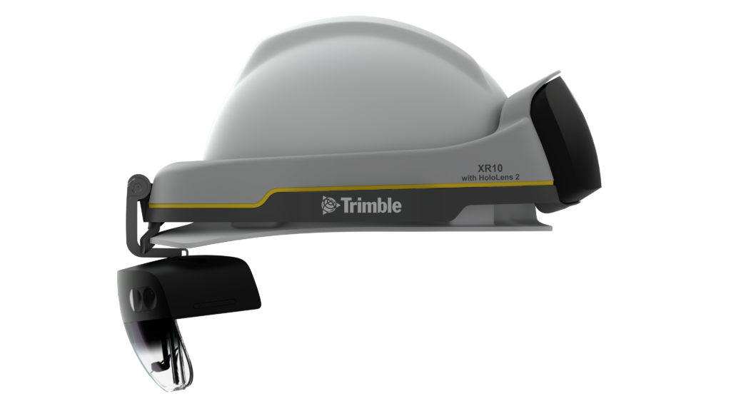 Microsoft and Trimble made a hard hat with HoloLens built-in
