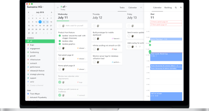 Sunsama S 10 Month Task Management Calendar Cleans Up Your Online Productivity Techcrunch