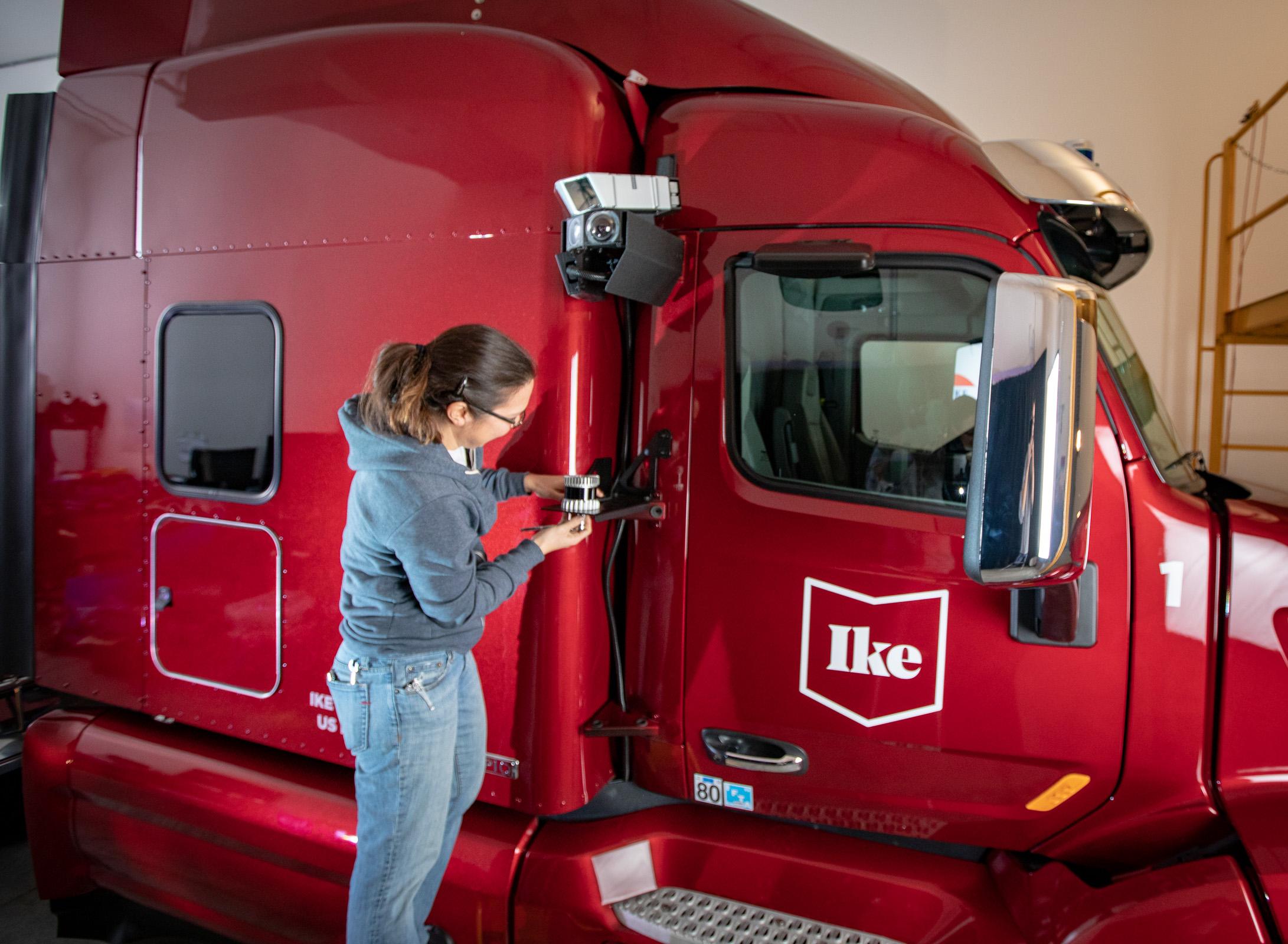 ike trucking sensors