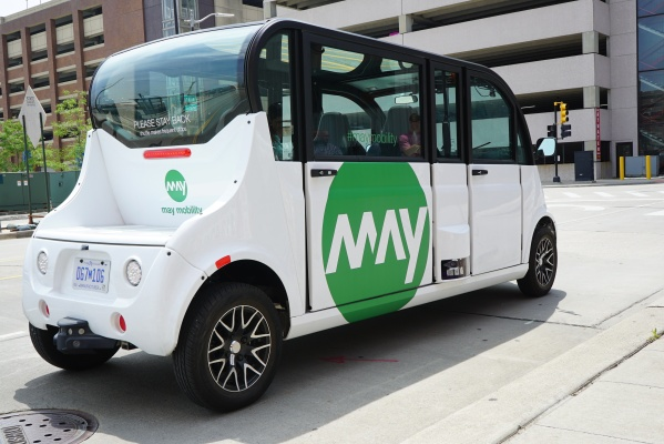 Toyota leads $50 million investment in autonomous shuttle startup May Mobility