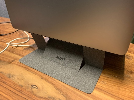 I'm digging this ridiculous $19 folding laptop stand