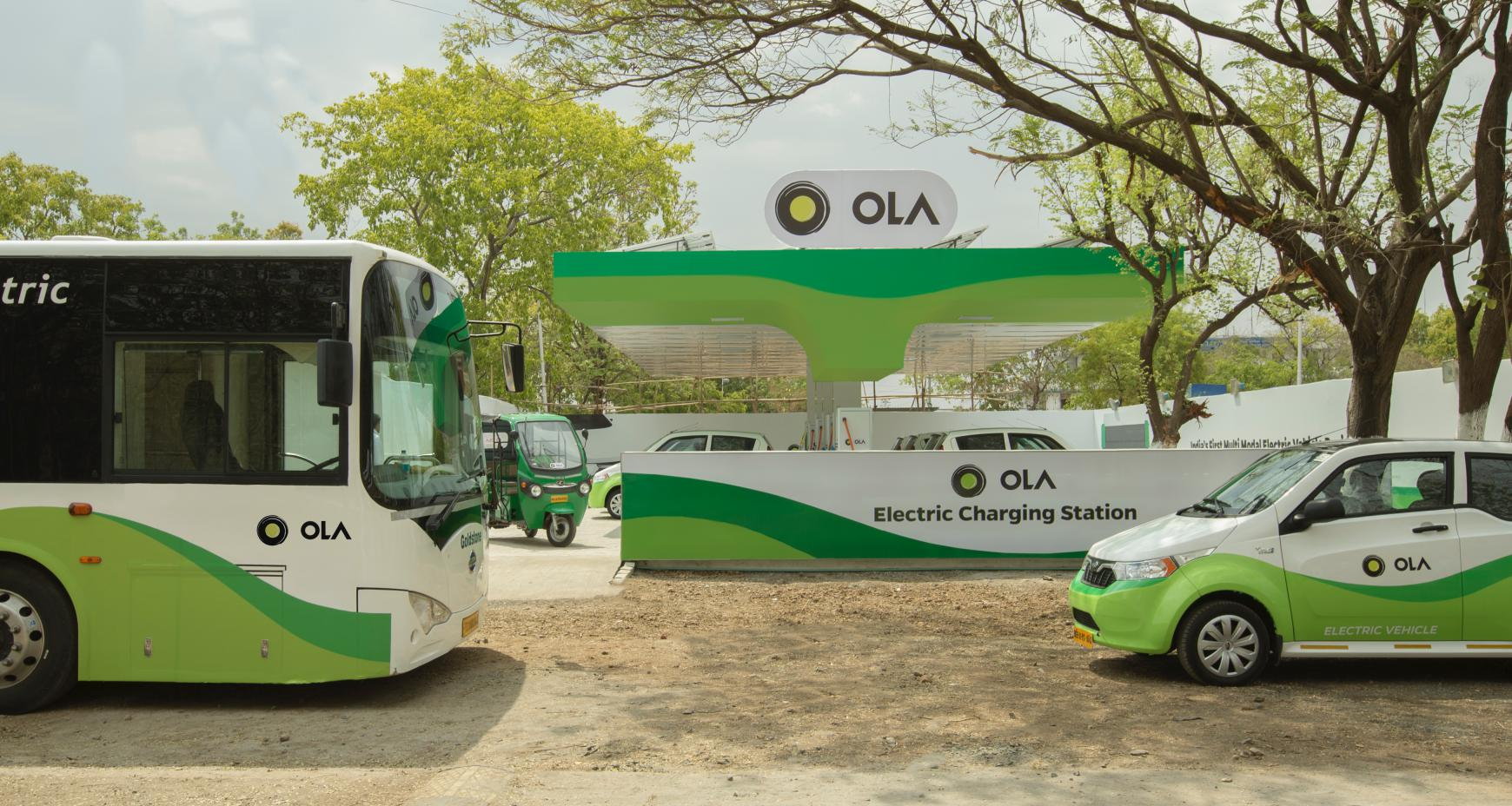 India's Ola spins out a dedicated EV business — and it just raised