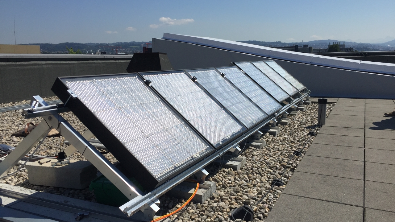 These hyper-efficient solar panels could actually live on