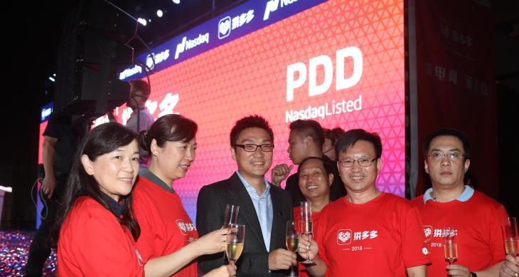 Surging costs send shares of ecommerce challenger Pinduoduo down 17 percent pinduoduo 4