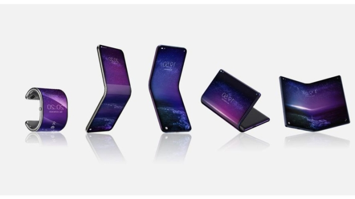 Tcl s first foldable phone could slap bracelet itself into a smartwatch  892218