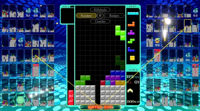 Nintendo is releasing a free 99-player version of Tetris