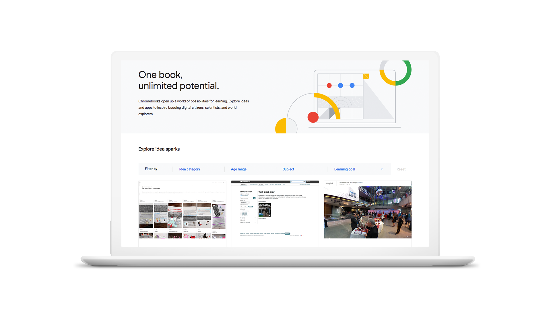 Google to launch a 'Chromebook App Hub' for educational apps and