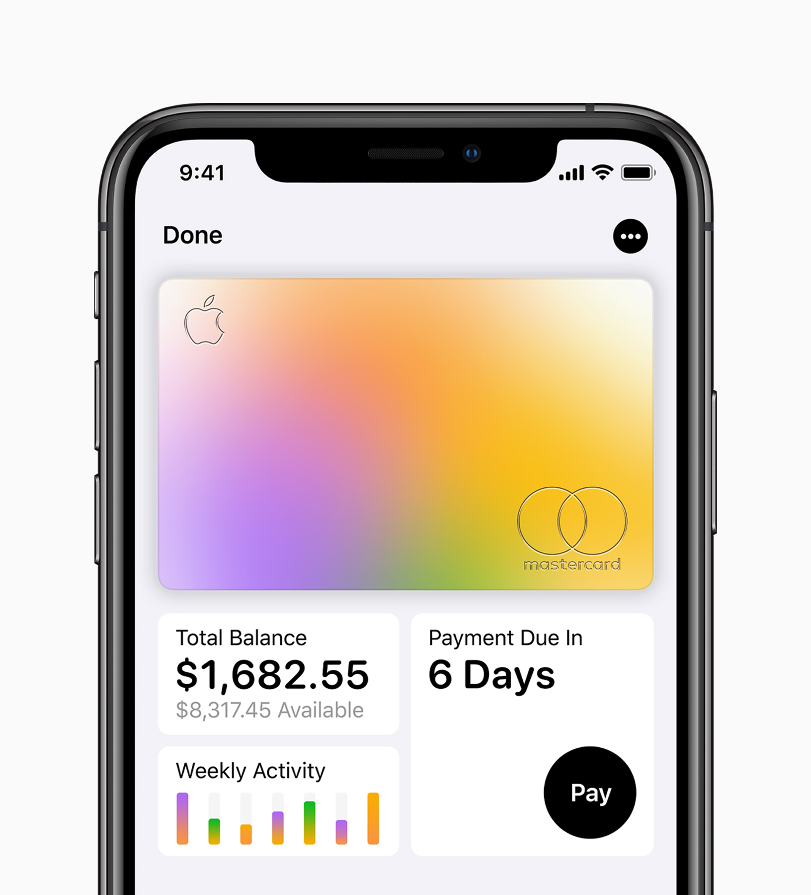 Apple Card iPhoneXS Total Balance 0325191 - Apple could release the Apple Card during the first half of August