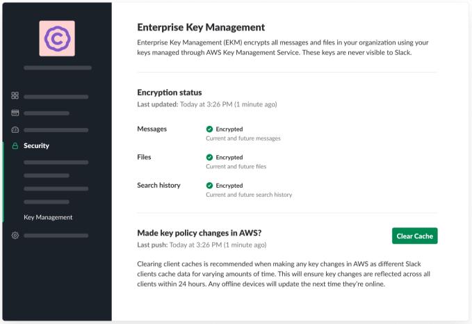 Slack hands over control of encryption keys to regulated customers Slack hands over control of encryption keys to regulated customers EKM Imagery