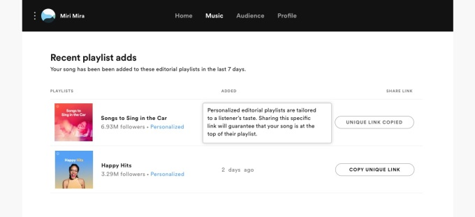 Spotify expands personalization to its programmed playlists | TechCrunch