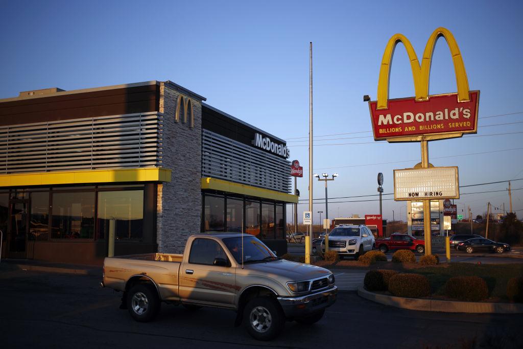 mcdonalds stock