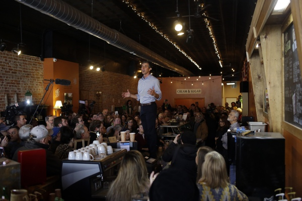 photo image Beto O'Rourke could be the first hacker president