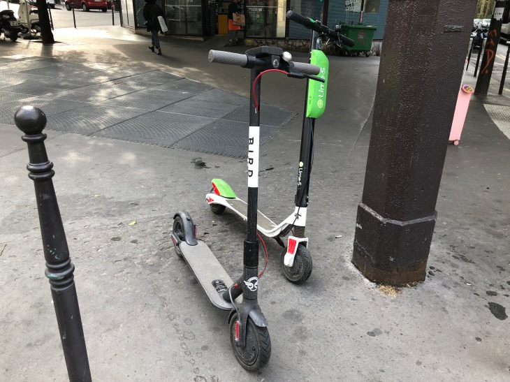 Paris to tax scooter and bike services | TechCrunch