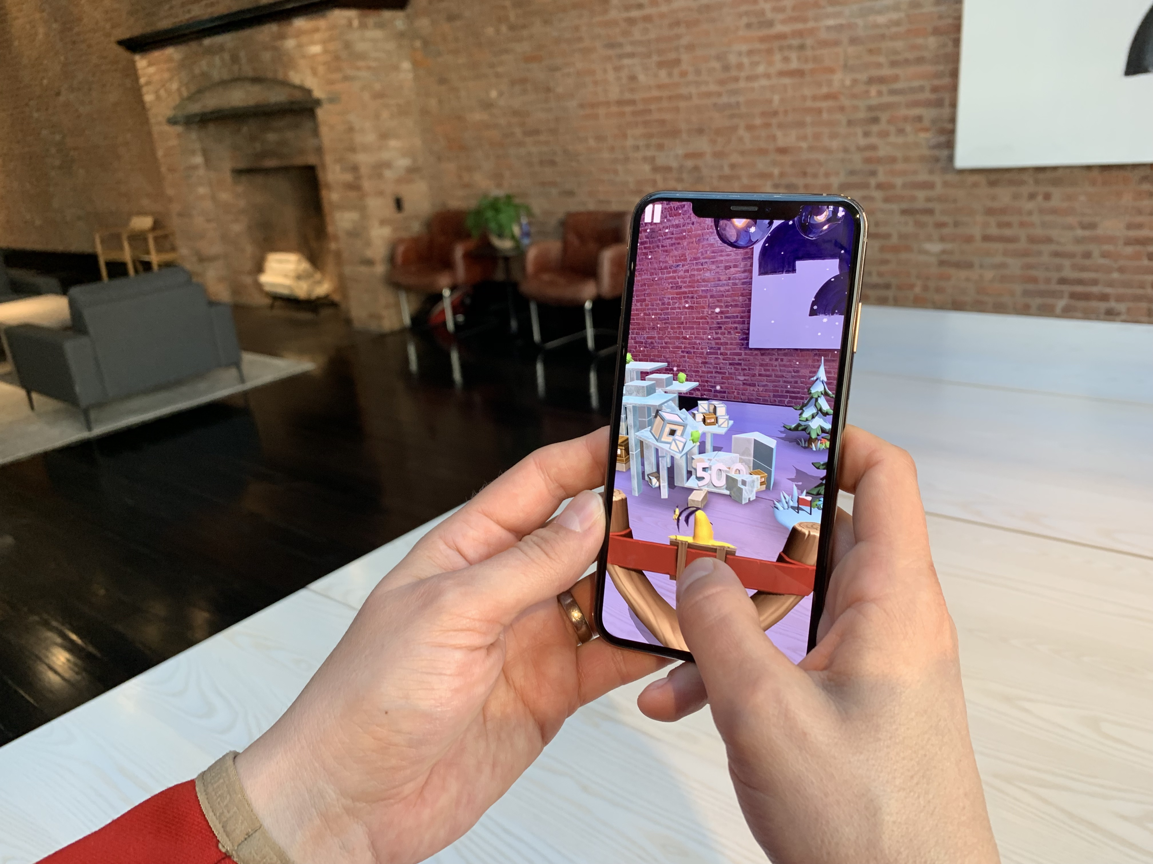 Angry Birds AR is coming to iPhone this spring | TechCrunch