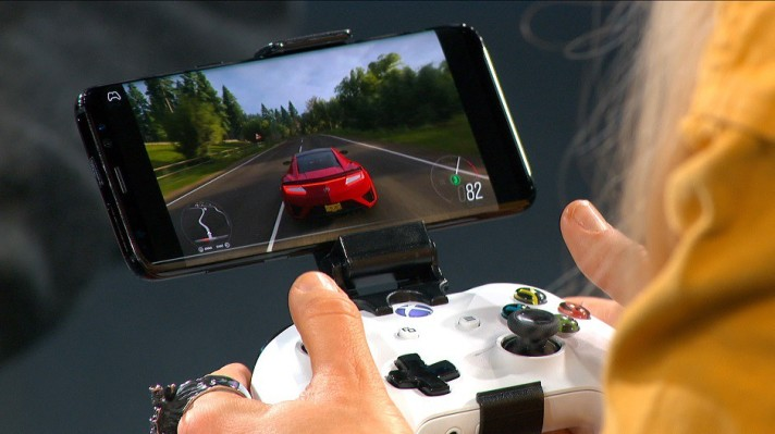 photo of Microsoft shows off Project xCloud with Forza running on an Android phone image