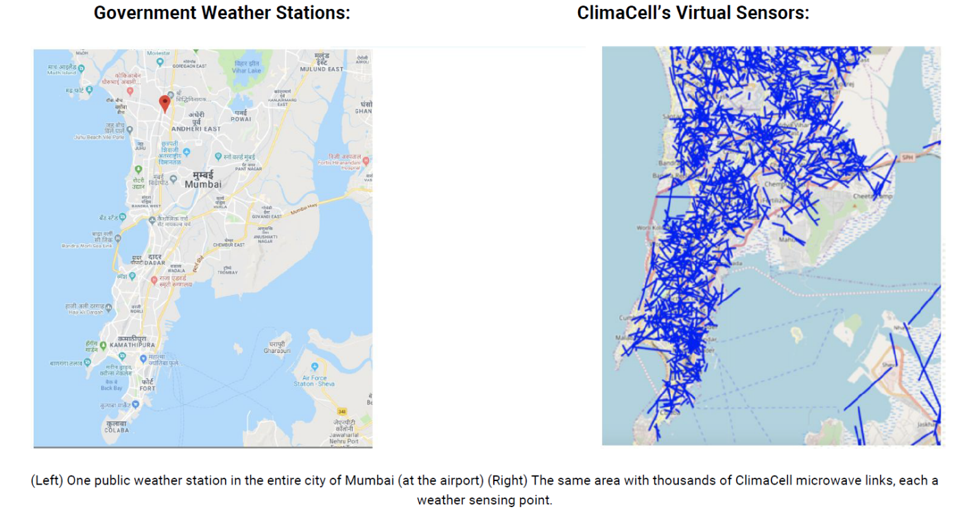ClimaCell bets on IoT for better weather forecasts ClimaCell bets on IoT for better weather forecasts India sensors