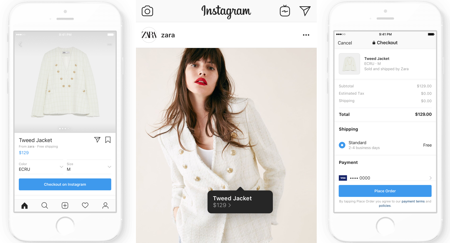 Instagram launches shopping checkout, charging sellers a fee ...