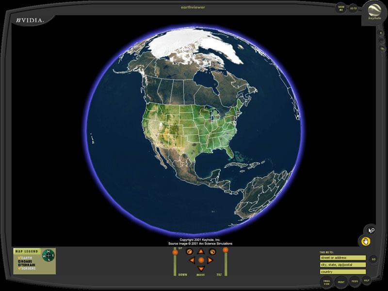 How a Google side project evolved into a $4B company KEYHOLE EarthViewer