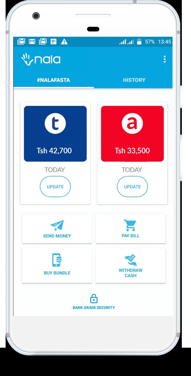Nala has built a hassle-free, offline mobile money payment platform for Africa NALA Screenshot