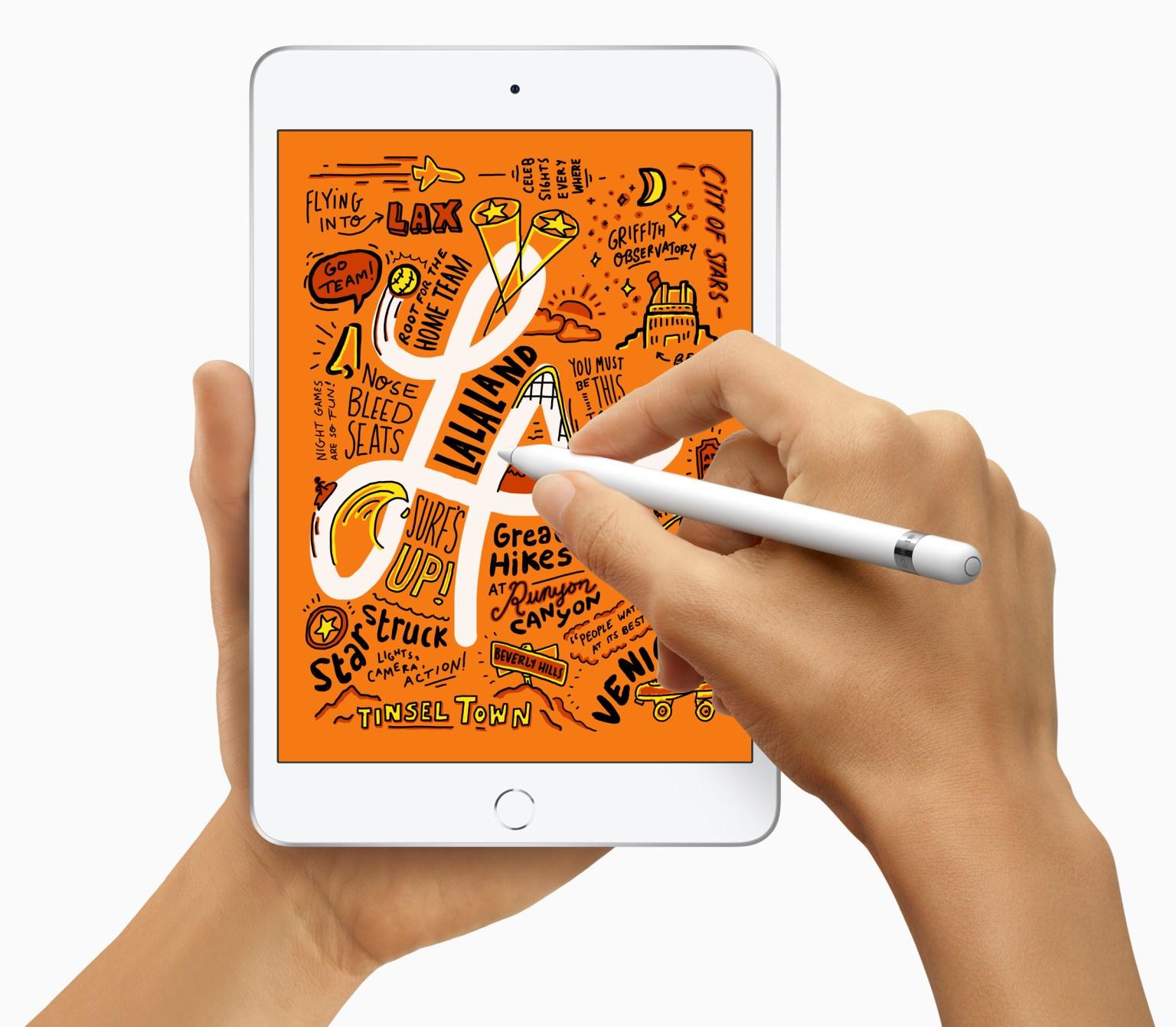 New iPad Mini and supports Apple Pencil 03192019