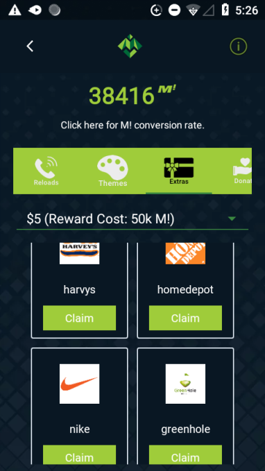 Moolah Mobile screenshot