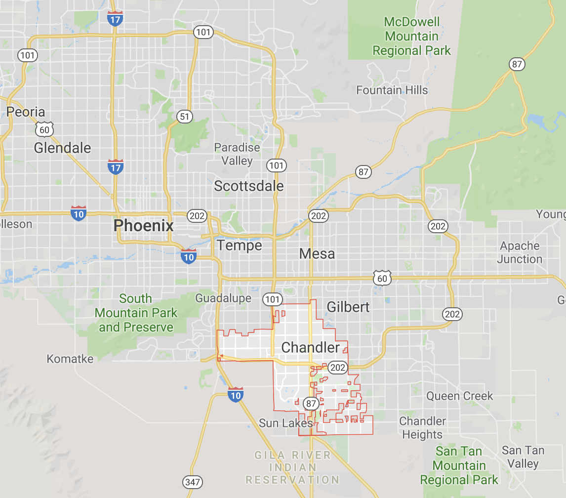 Map Of Arizona Driving.Waymo Is Gearing Up To Put A Lot More Self Driving Cars On The Road