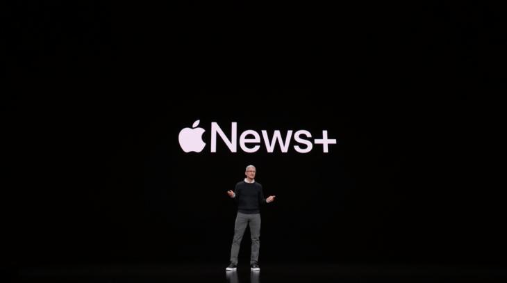 Apple unveils its $9 99 per month news subscription service