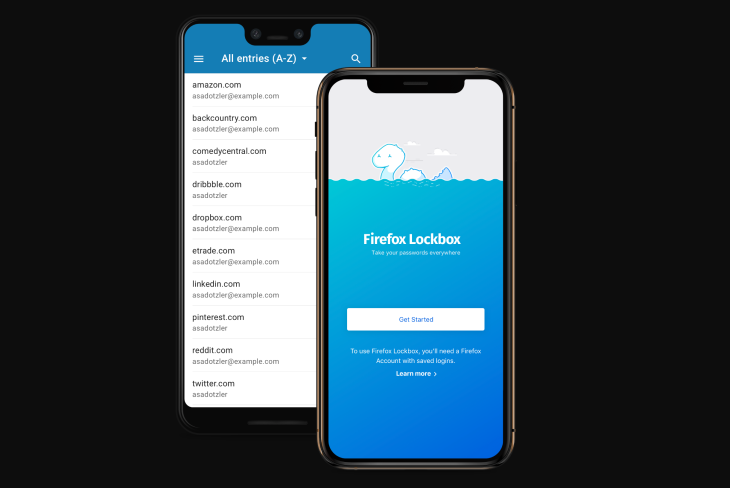 Mozilla's free password manager, Firefox Lockbox, launches