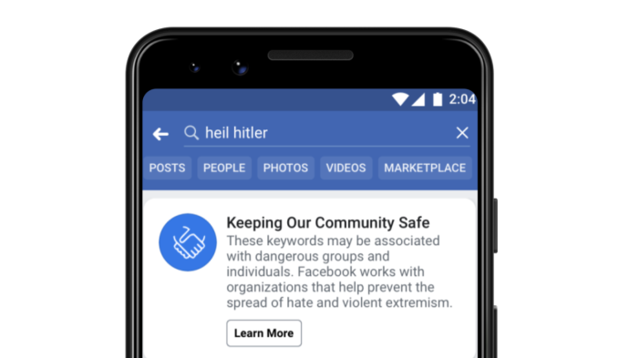 Facebook is finally banning white supremacy that goes by