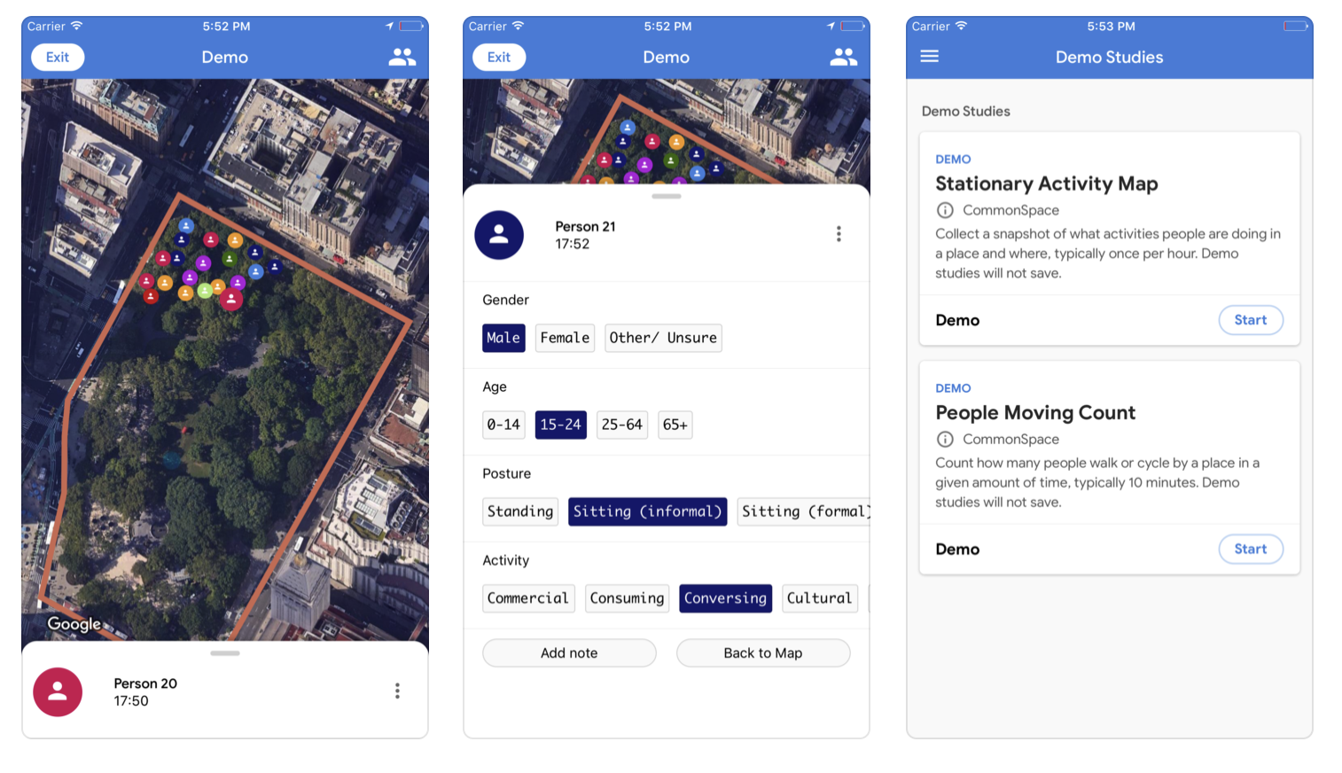 Sidewalk Labs launches an app to crowdsource public space surveys