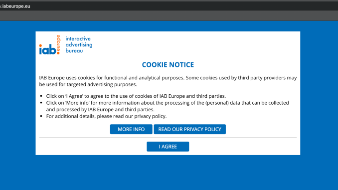 Cookie walls don't comply with GDPR, says Dutch DPA