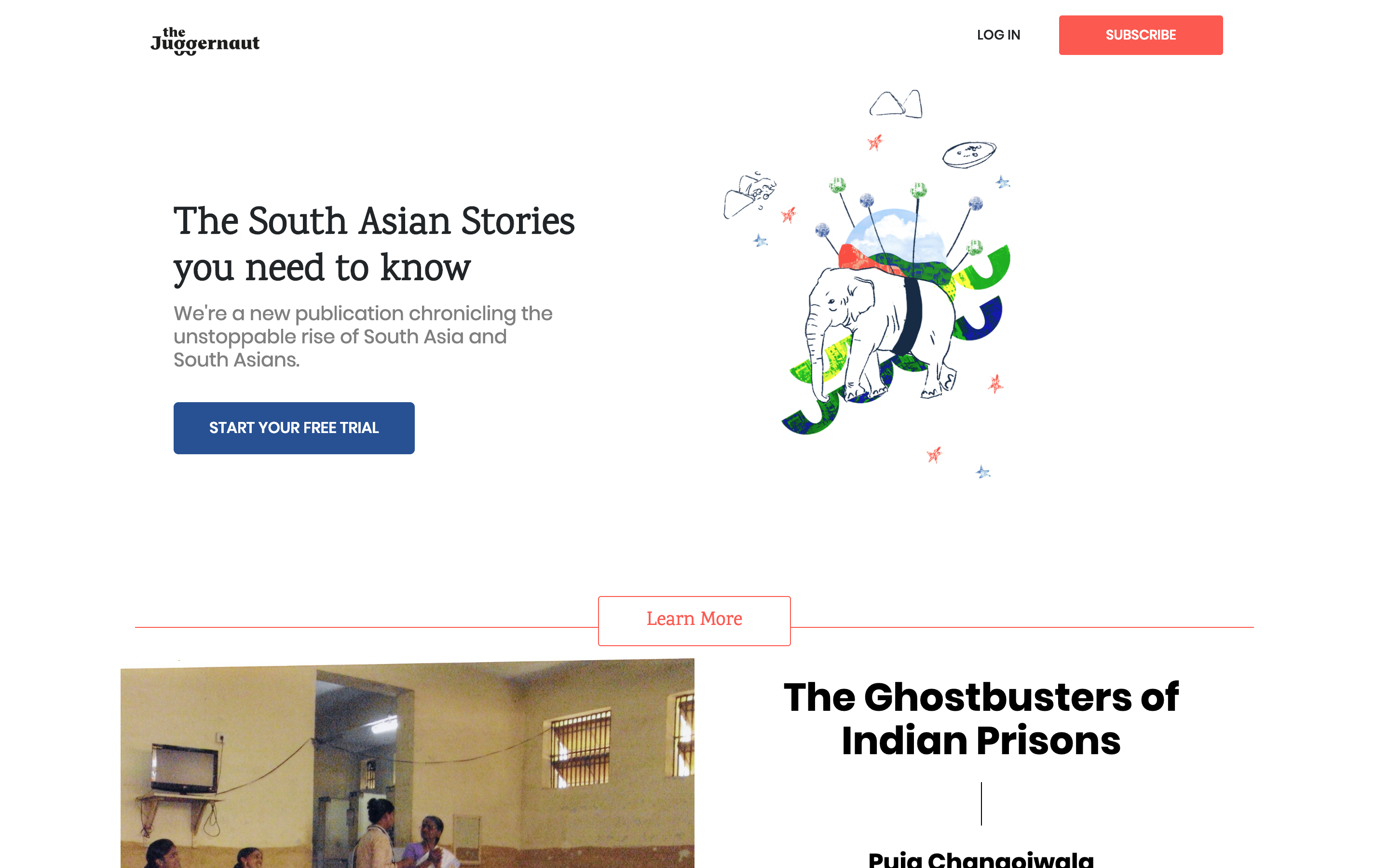 The Juggernaut is a subscription media company for the South Asian diaspora