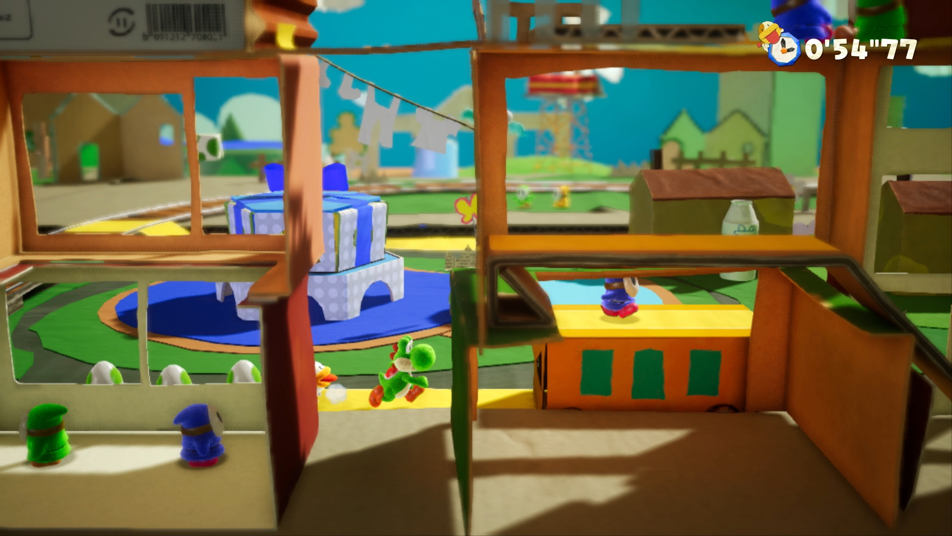 Yoshi's Crafted World is classic gaming joy, Nintendo-style Switch YoshisCraftedWorld 090618 PressKit SCRN 07