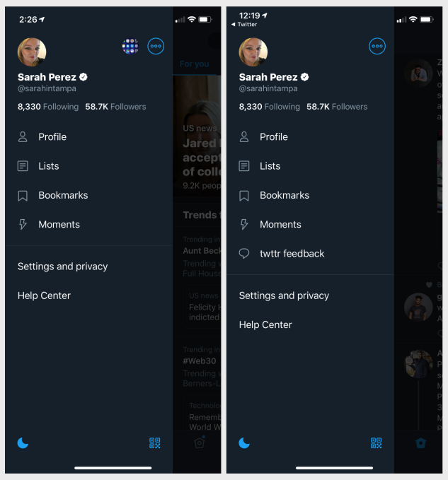 A first look at Twitter's new prototype app, twttr | TechCrunch