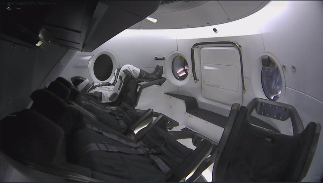SpaceX's Crew Dragon makes its first orbital launch tonight
