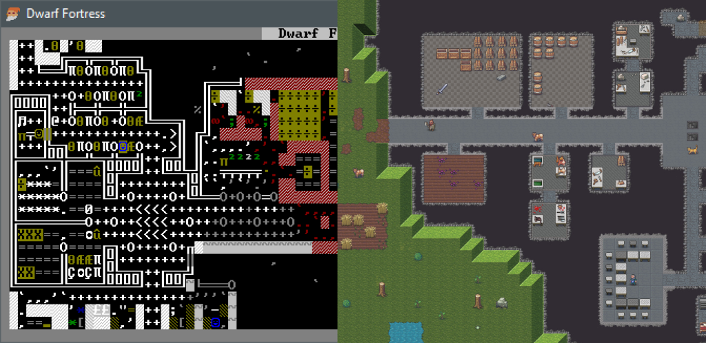 The legendary and indescribable Dwarf Fortress goes non-ASCII and non-free for the first time