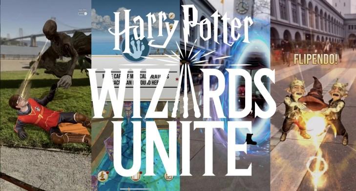 """Resultado de imagen para """"Harry Potter: Wizards Unite"""""""