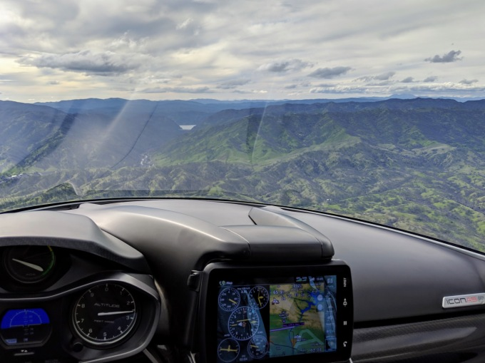 The future of flying icon view