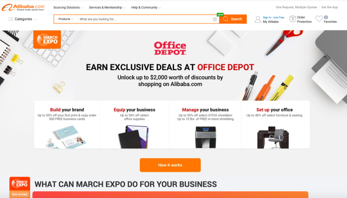 Office Depot partners with Alibaba to focus small to medium-sized businesses' needs
