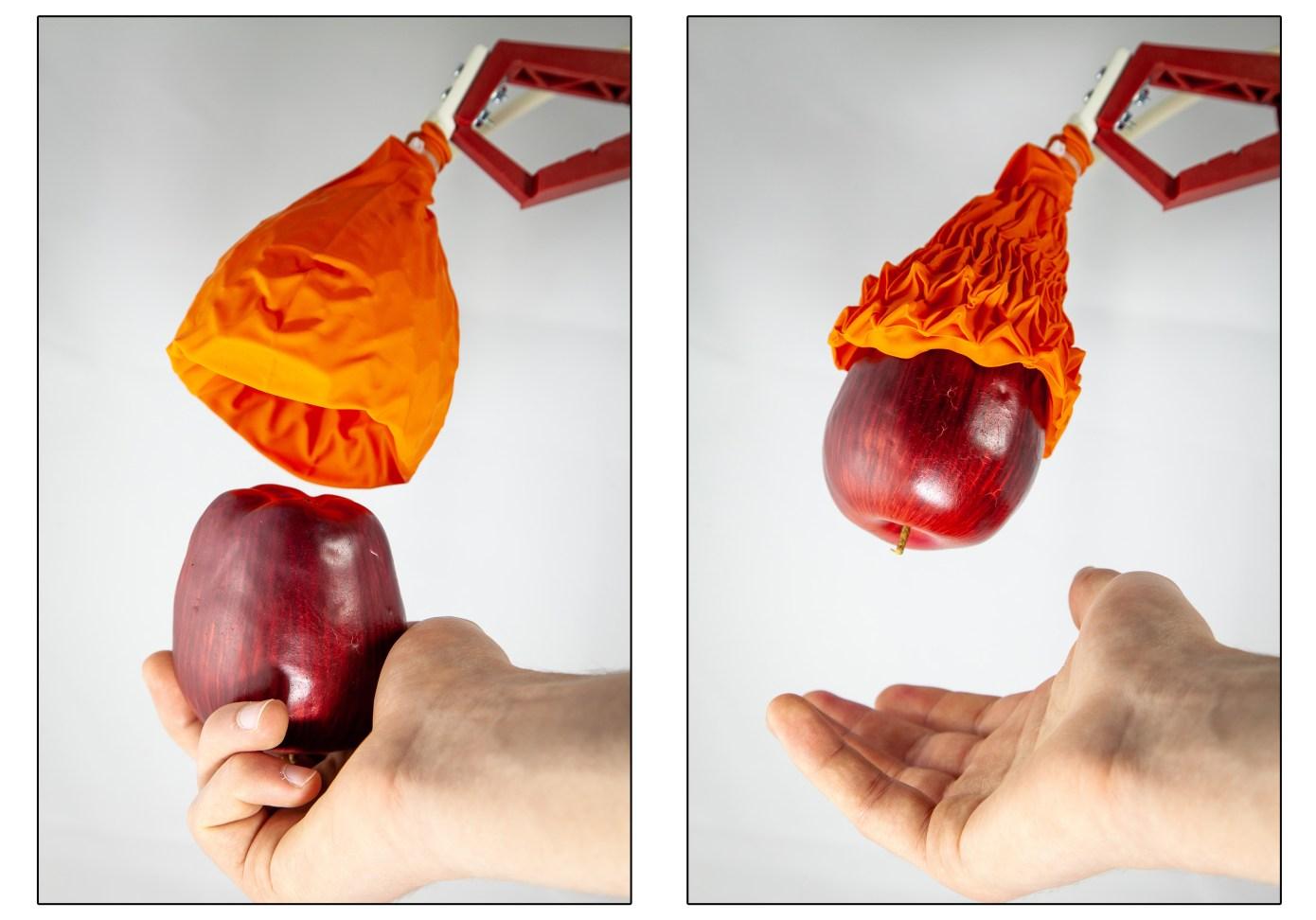 Ballonhände für Roboter.
