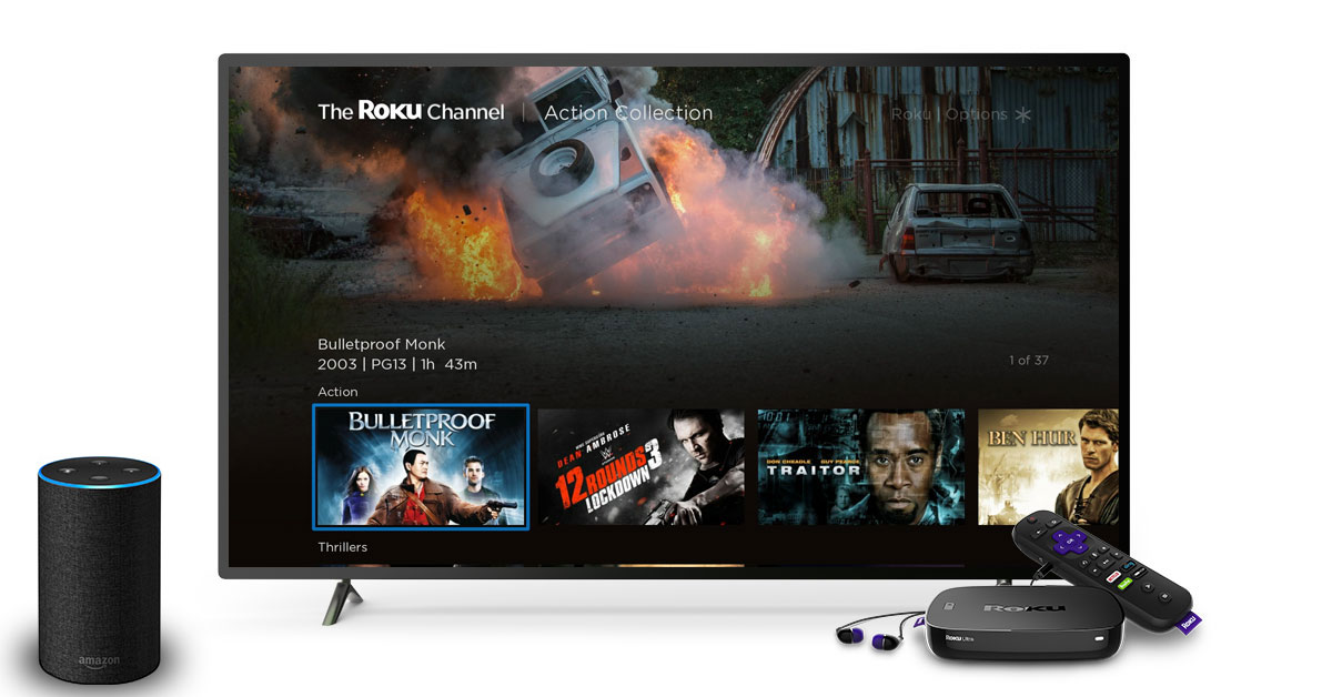 You can now ask Alexa to control your Roku devices | TechCrunch